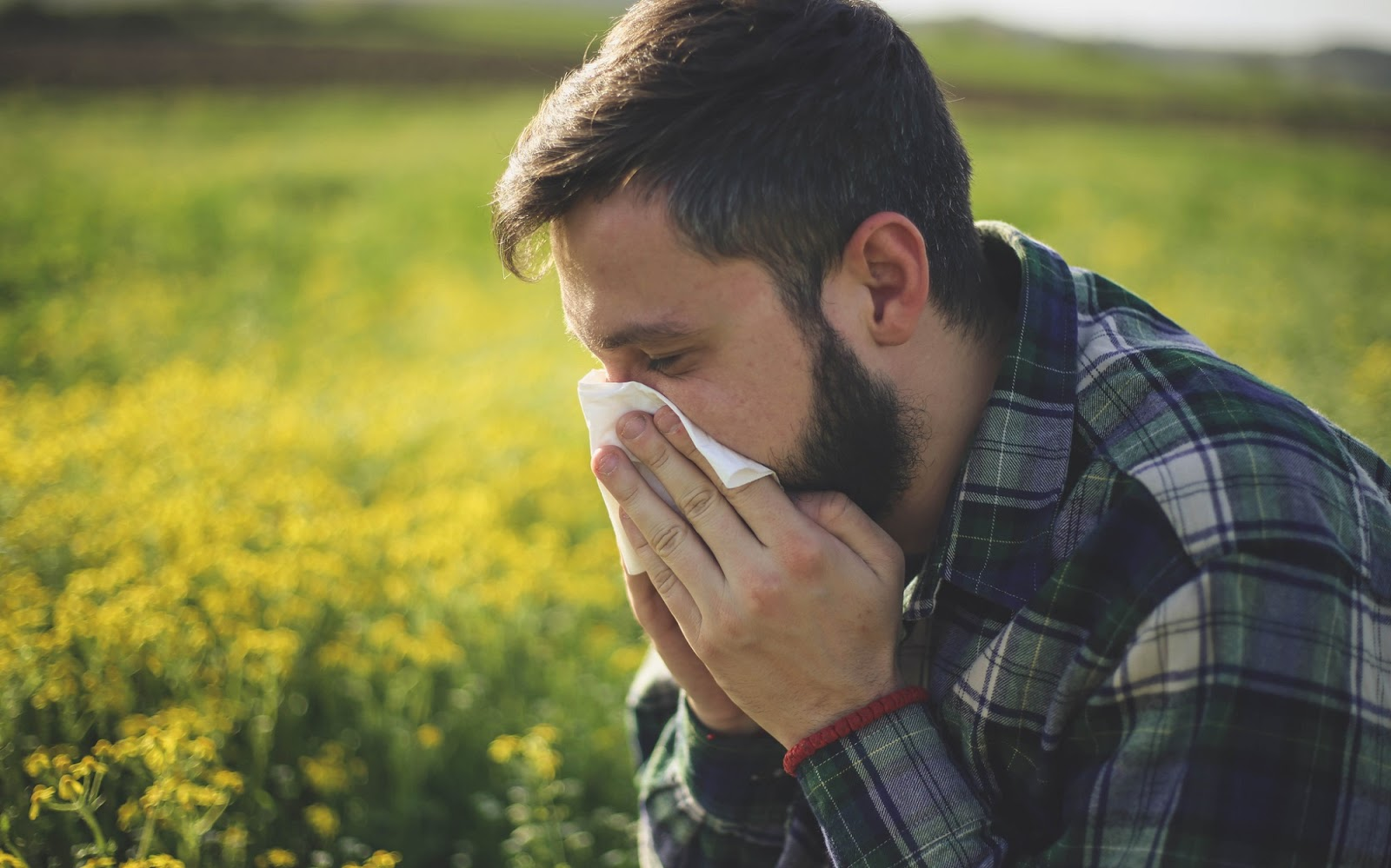 What does hay fever feel like?