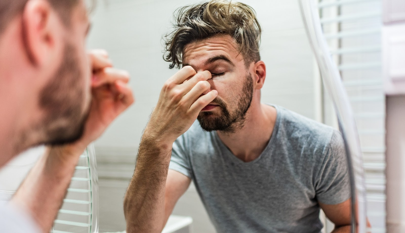 What is nasal congestion?